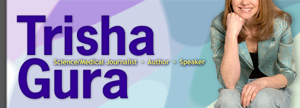 Trisha Gura, PhD, science-medical journalist, speaker, and author of Lying in Weight